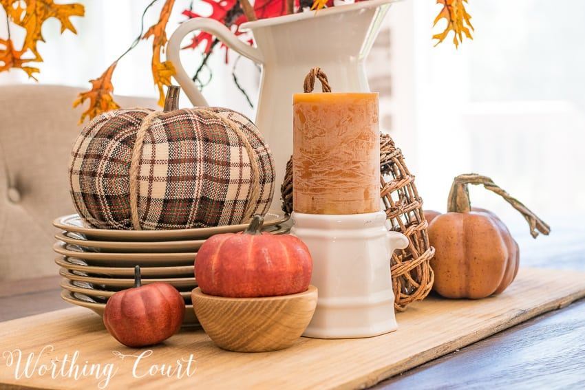 An eye catching fall centerpiece #fallcenterpiece #fall || Worthing Court