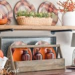 These Are My Most Favorite Fall Kitchen Shelves Ever!