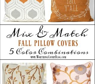 Throw Pillow Covers For Fall Under $30