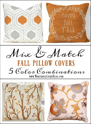 Why Are Throw Pillows So Expensive : Throw Pillow Covers For Fall Under $30 - Worthing Court