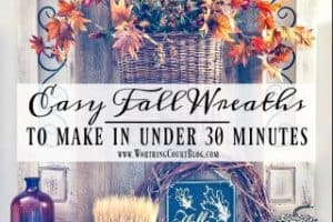 Easy DIY Fall Wreaths You Can Make In Under 30 Minutes
