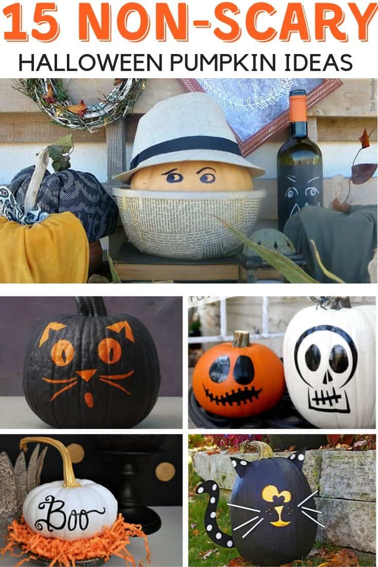 15 Non Scary Halloween Pumpkin Decorating Ideas Worthing Court