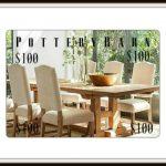 $100 Pottery Barn Gift Card Giveaway + September Recap