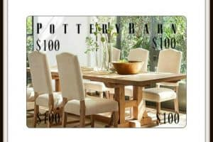 $100 Pottery Barn Gift Card Giveaway + September Recap