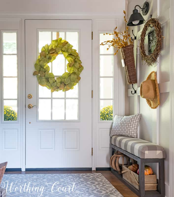 Your Foyer Is The Best Place To Welcome Fall Into Your Home - Worthing Court