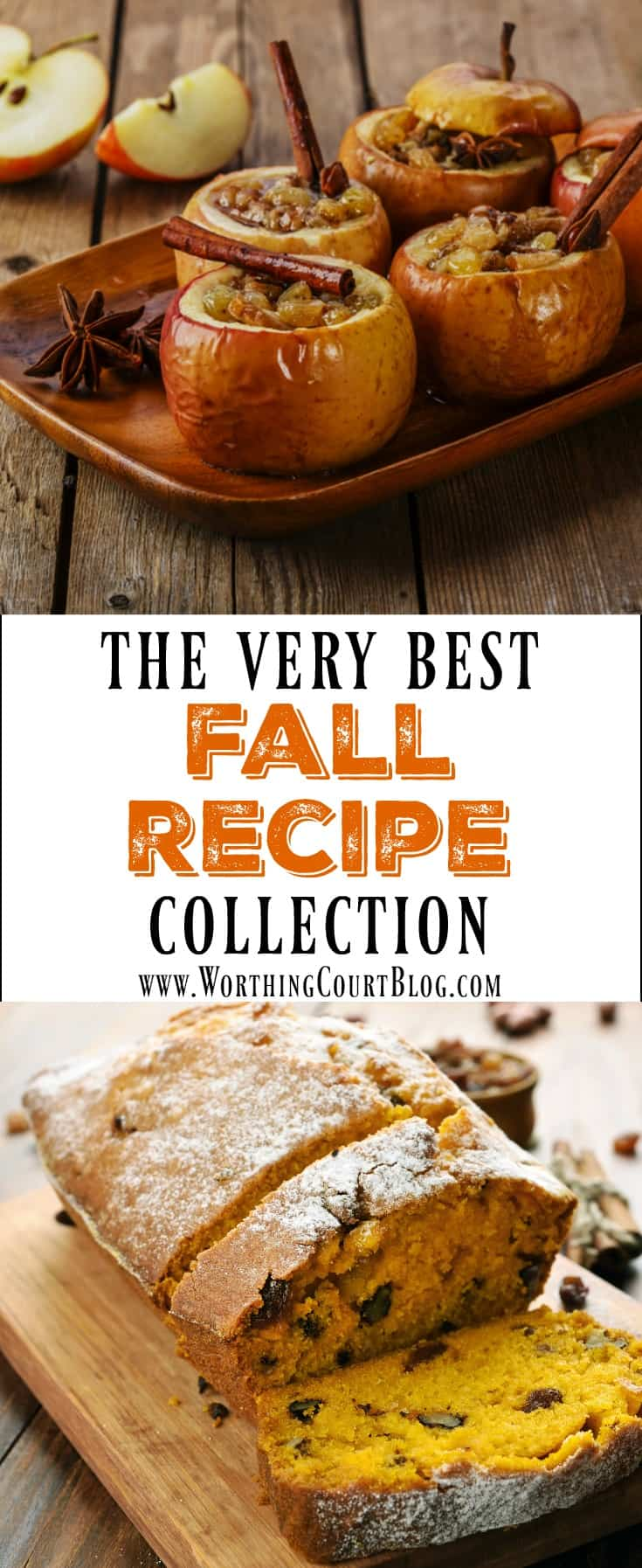 The Very Best Fall Recipe Collection || Worthing Court