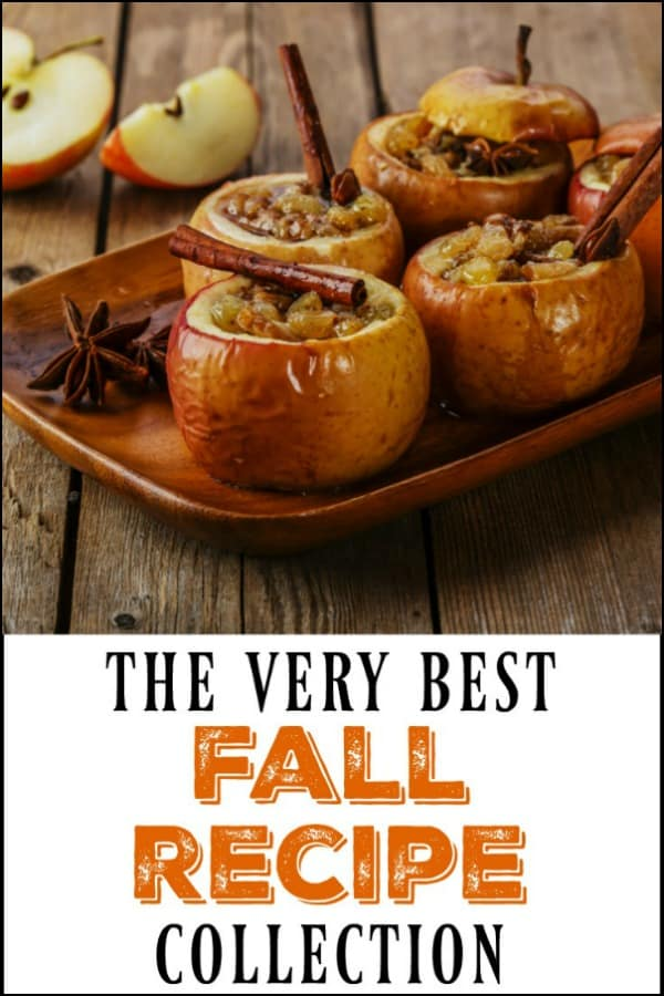 a collection of 7 fall and Thanksgiving recipes