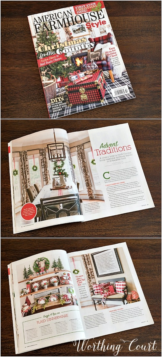 American Farmhouse Magazine Feature for Worthing Court