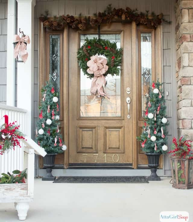 How To Decorate A Small Porch For Christmas