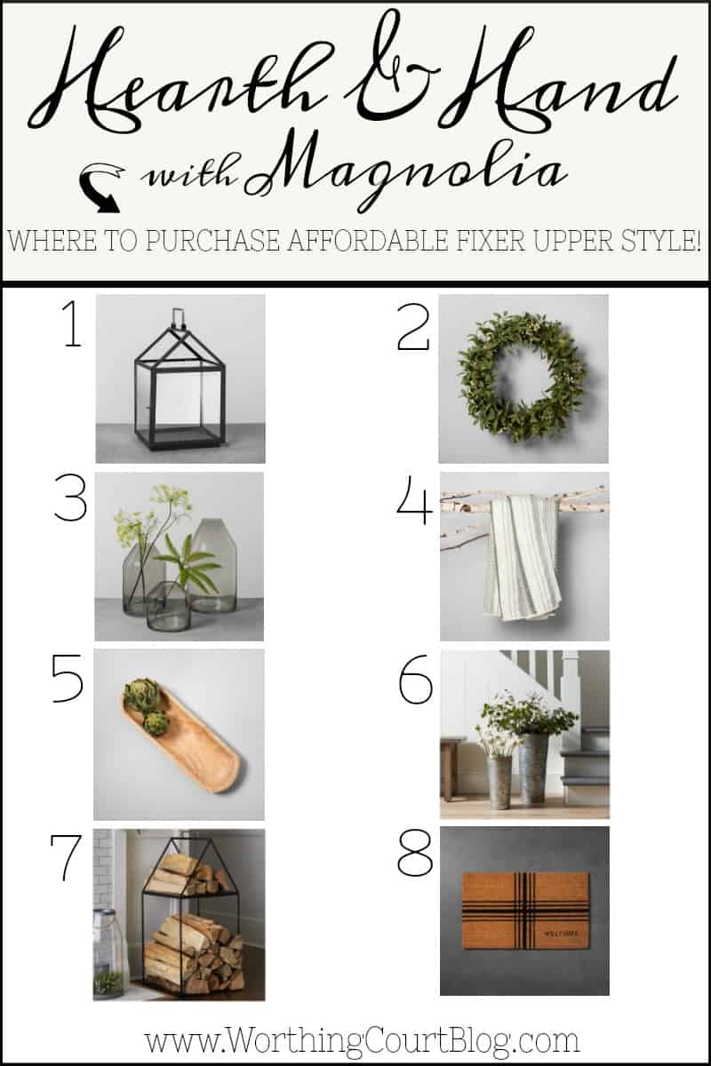 Where to purchase Fixer Upper style home decor accessories for under $5 #homedecor #fixerupper #farmhouse
