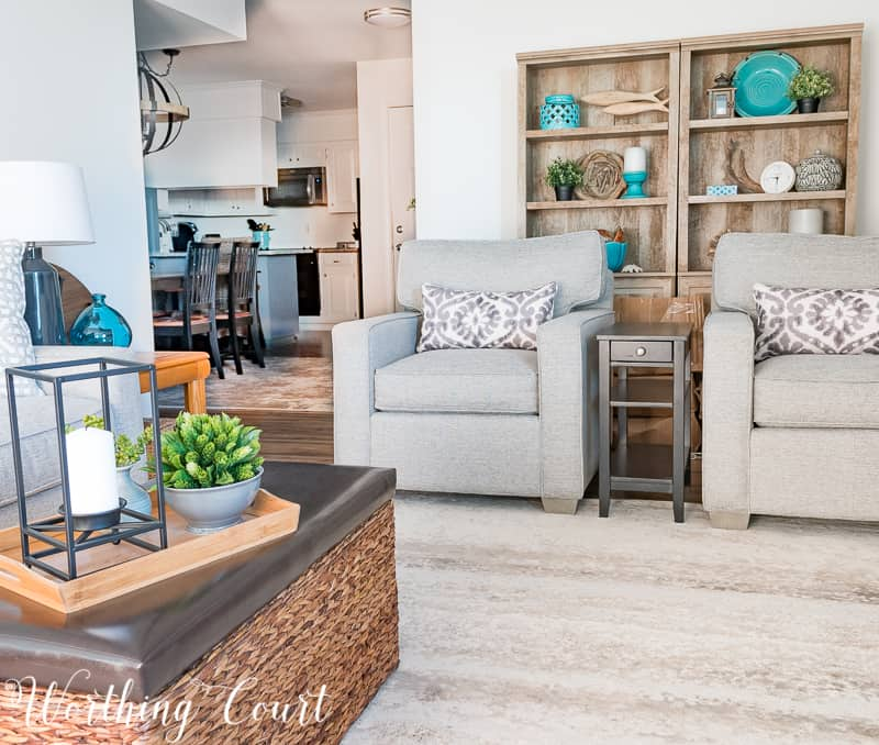 Plans And Progress On My Modern Farmhouse Beach Living Room