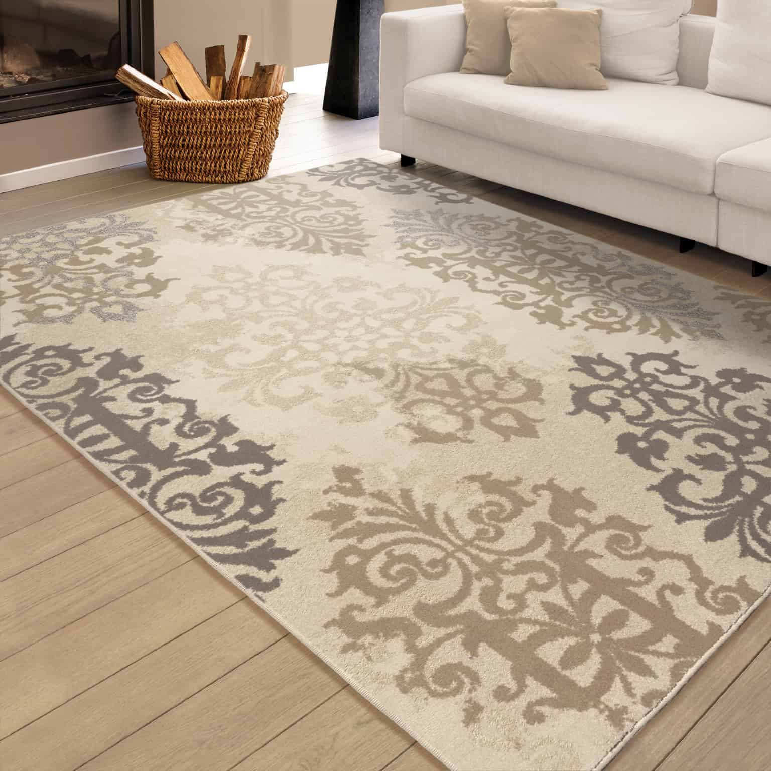 Epiphany Anzio Lambswool Area Rug #rugs #neutralrugs
