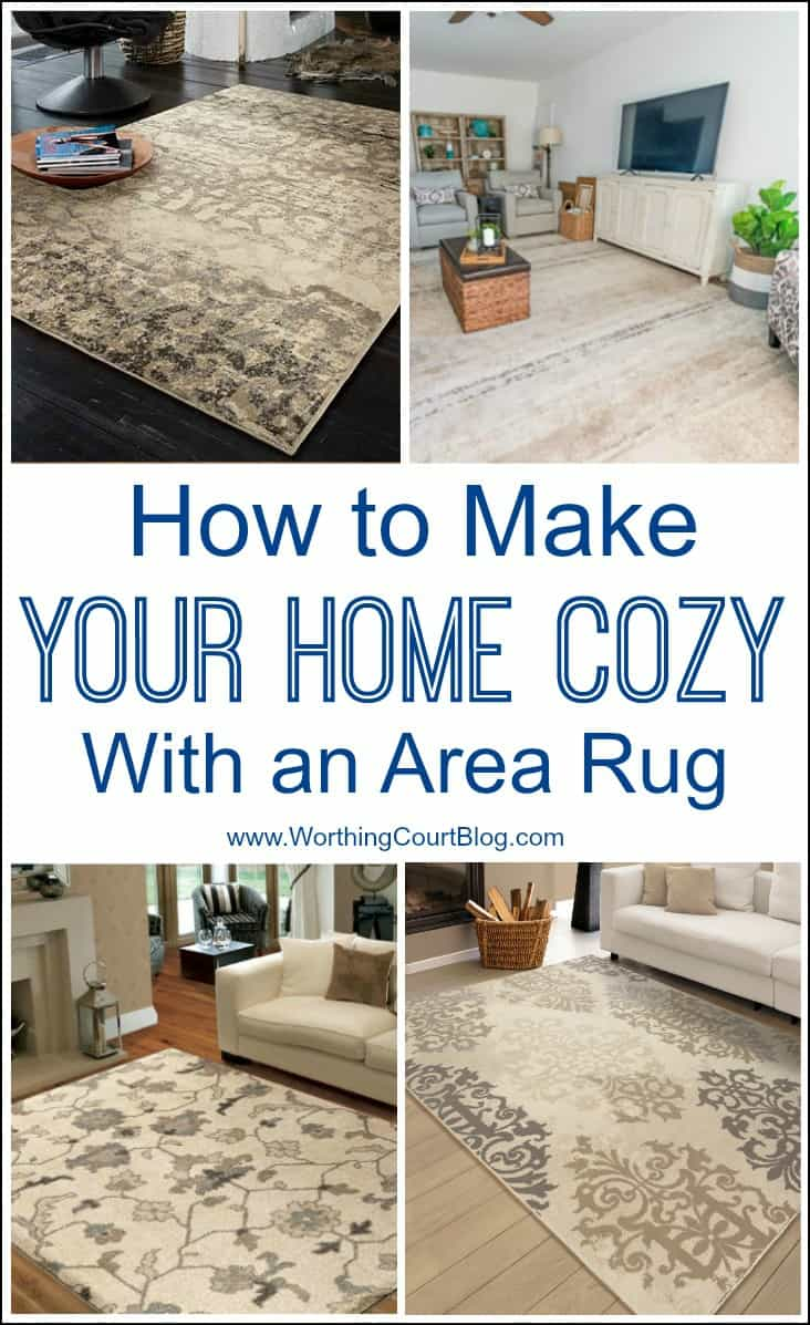 How To Make Your Home Cozy Using An Area Rug #arearugs #cozyroomdecor