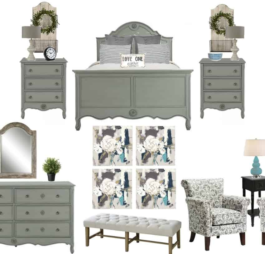 Farmhouse Guest Bedroom Makeover Plans