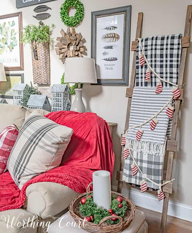Take A Tour Of My Cozy And Festive Christmas Family Room #christmasdecor