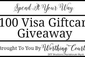 $100 Visa Gift Card Giveaway + A December Recap