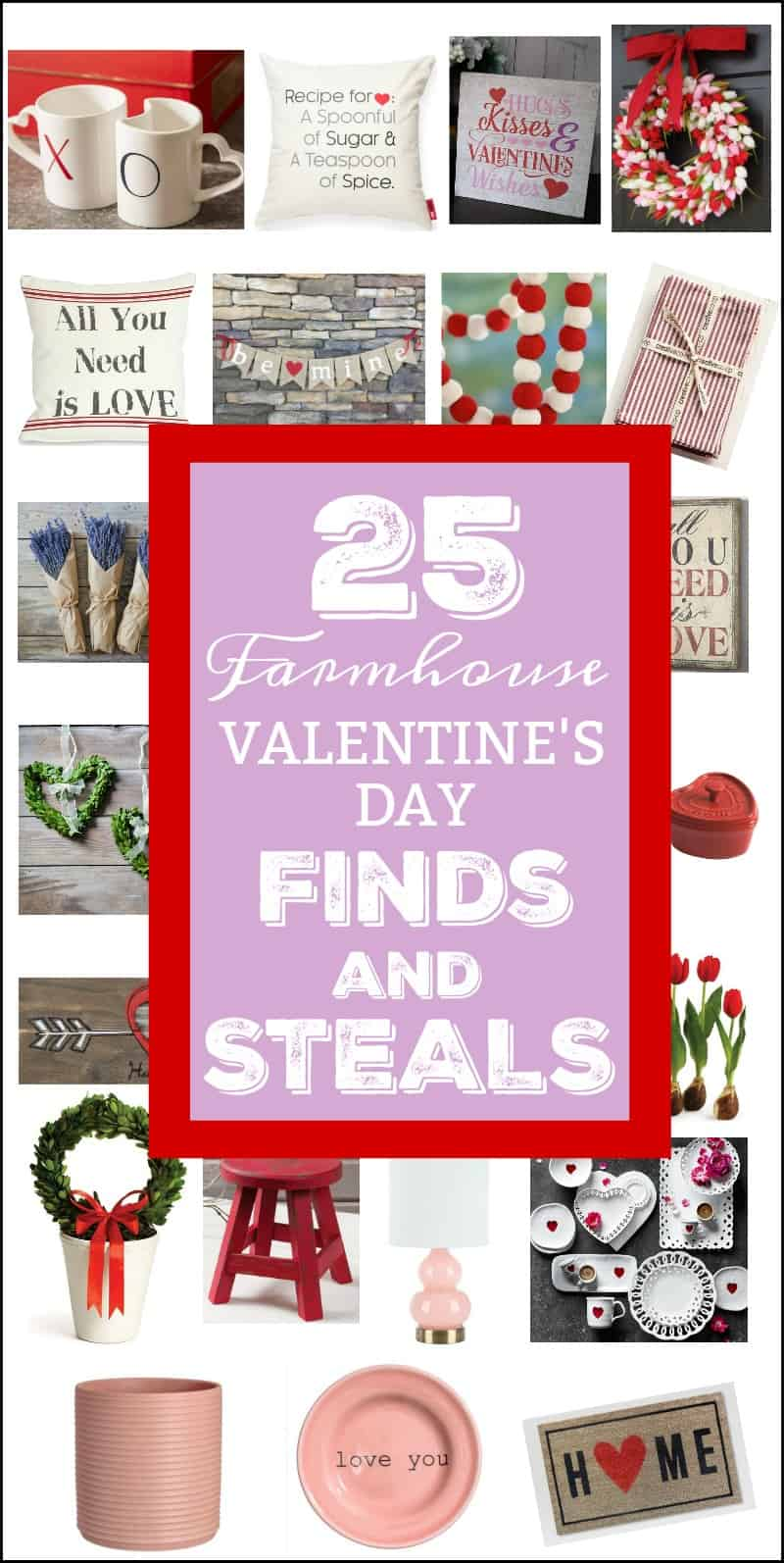25 Farmhouse Valentine's Day Finds And Steals