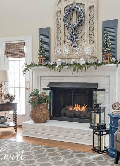 ideas for decorating after Christmas