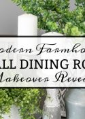 Small Dining Room Makeover Reveal - Bringing A Mood Board To Life
