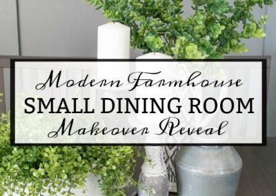 Small Dining Room Makeover Reveal – Bringing A Mood Board To Life