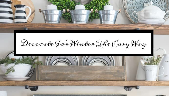 How To Decorate Your Home For Winter The Easy Way