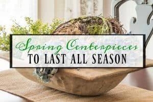 5 Unexpected Spring Centerpiece Ideas That Will Last All Season