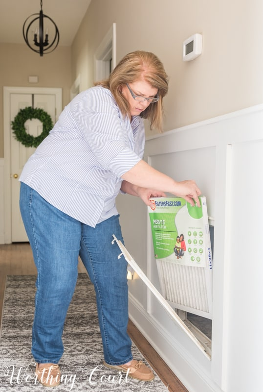 Schedule for how often you should change your hvac air filters