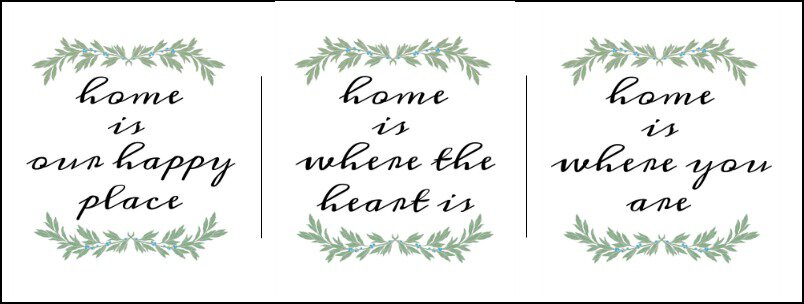 Free 8x10 'Home Is' Printables #printables #freeprintables #farmhouse