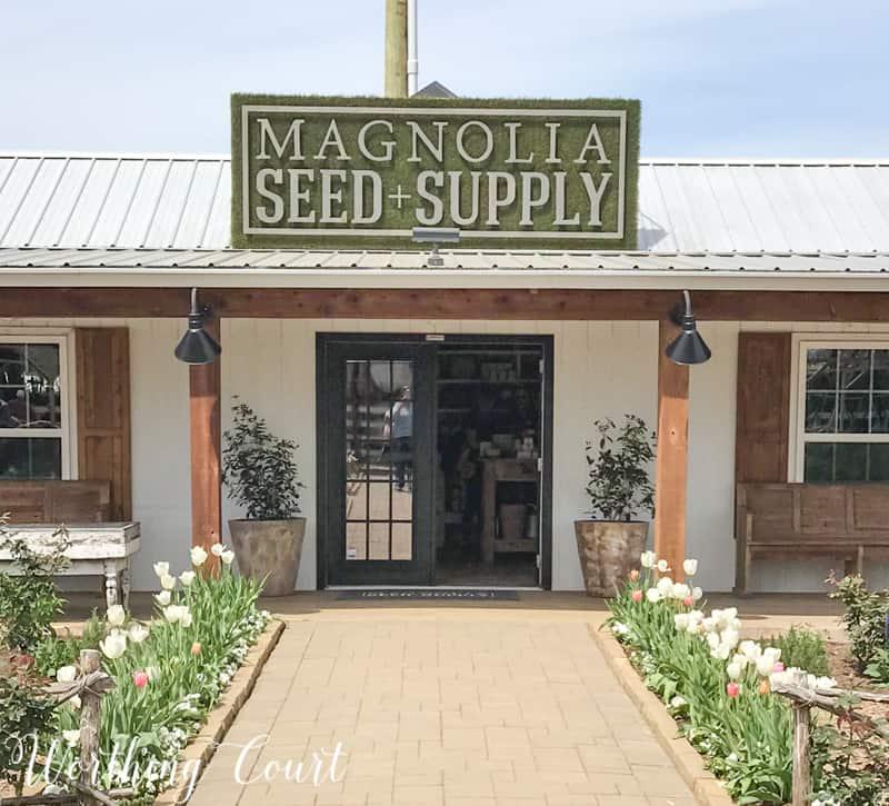 Magnolia Seed Supply at Magnolia Market #fixerupper #magnoliamarket #silos #waco #gardeningideas