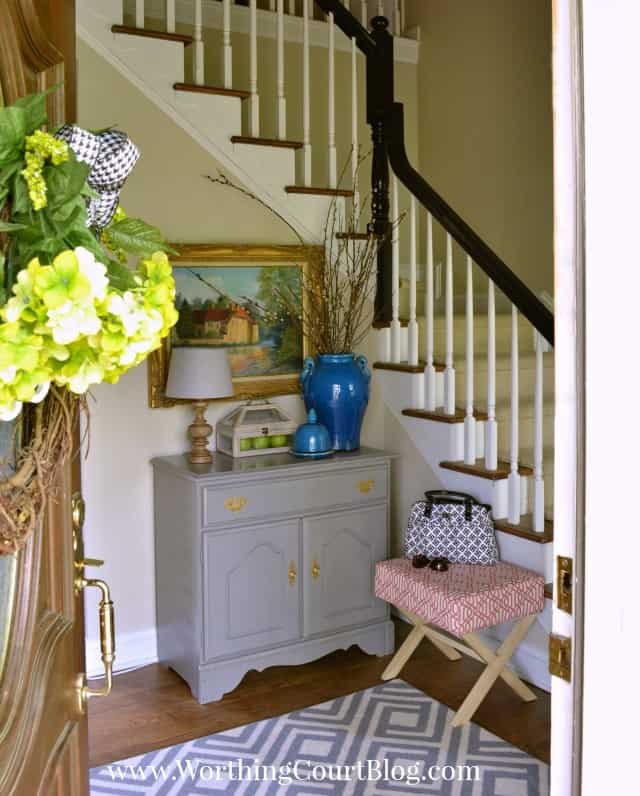 Foyer BEFORE makeover