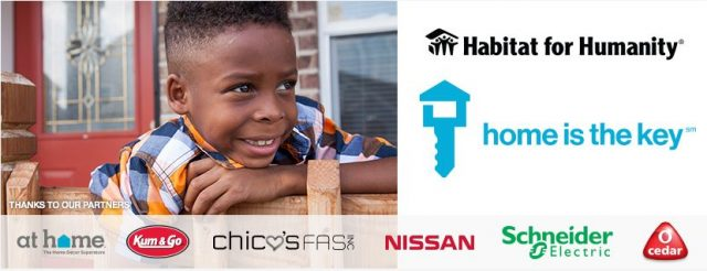 Here's how you can help support the #HomeIsKey campaign for Habitat for Humanity.