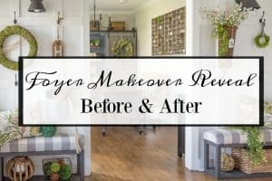 Entryway Makeover Reveal – How To Work With What You Have
