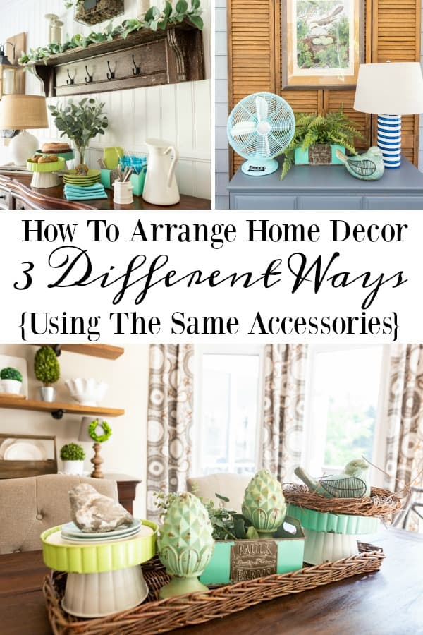 3 Ideas For How To Make The Same Accessories Work For You #TractorSupply #TrishaYearwood #HomeDecor #decoratingideas #SouthernStyle #homeaccessories