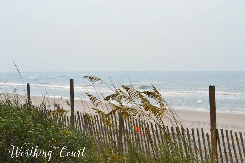 Beach View At N. Topsail Beach, NC
