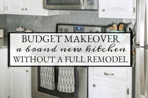 How To Make A Kitchen Look Brand New Without A Remodel – Before And After