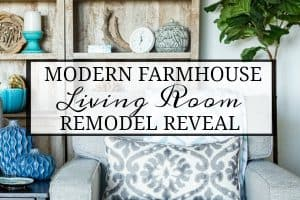 A Living Room Makeover Created With Summer In Mind – Before And After Room Reveal!