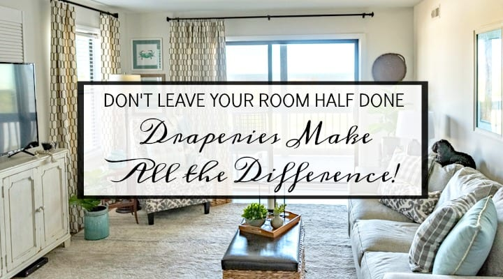 What A Difference Draperies Make In A Room!