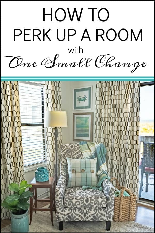 How to perk up a room with one small change #homedecor #decoratingtips #decoratingideas #interiordesignideas #decoratingideas #tips