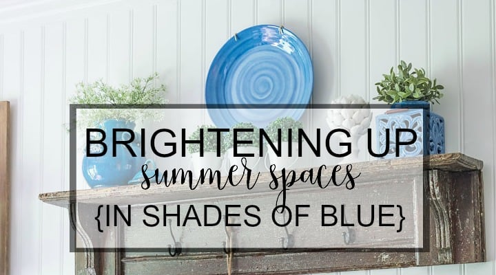 Brightening up summer spaces in shades of blue