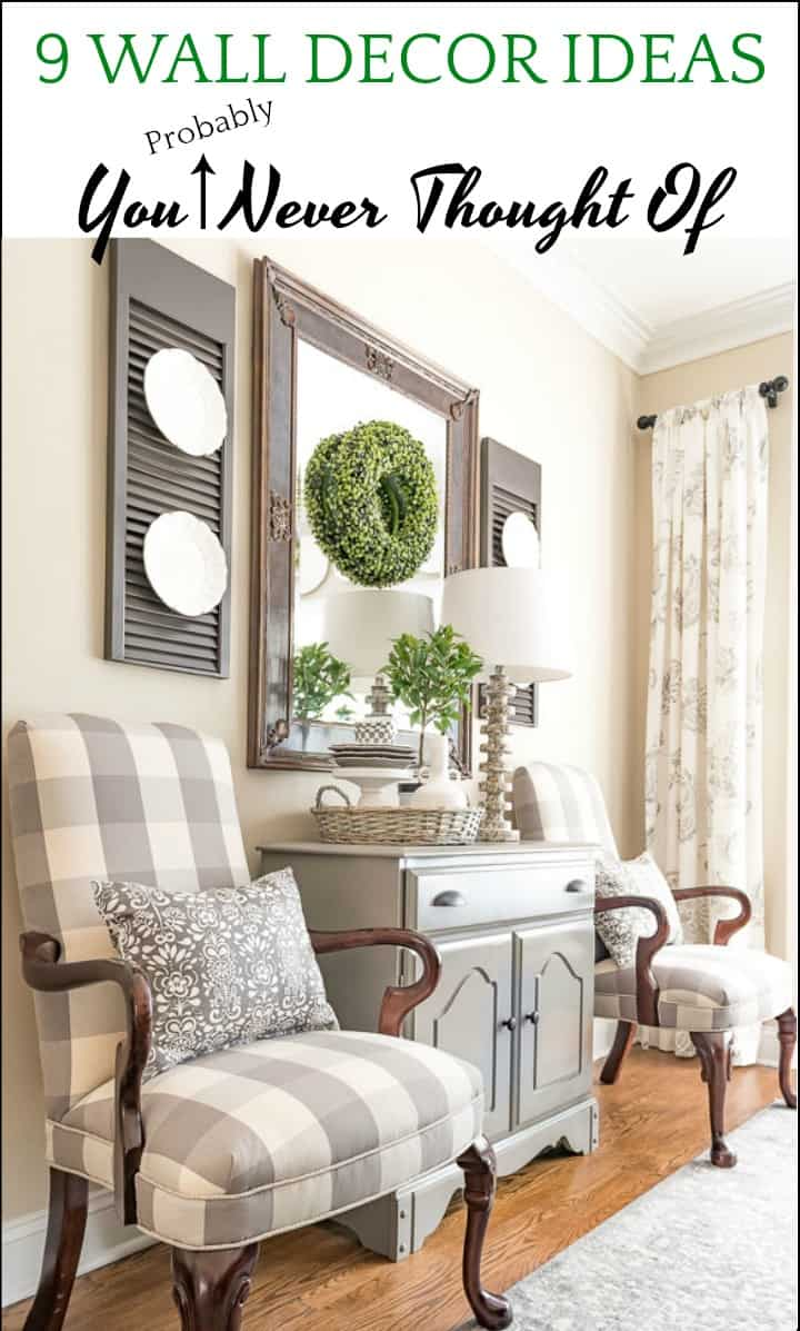 Wall Decor Ideas You May Never Have Thought Of | Worthing ...