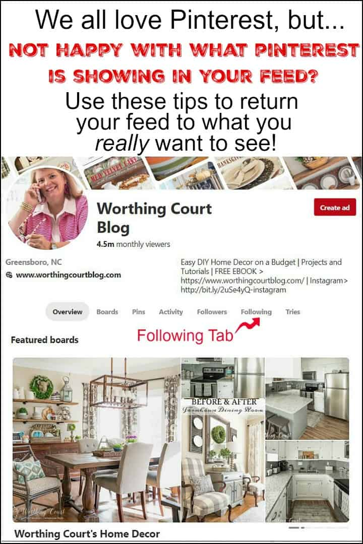 Pinterest Smart Feed Tips