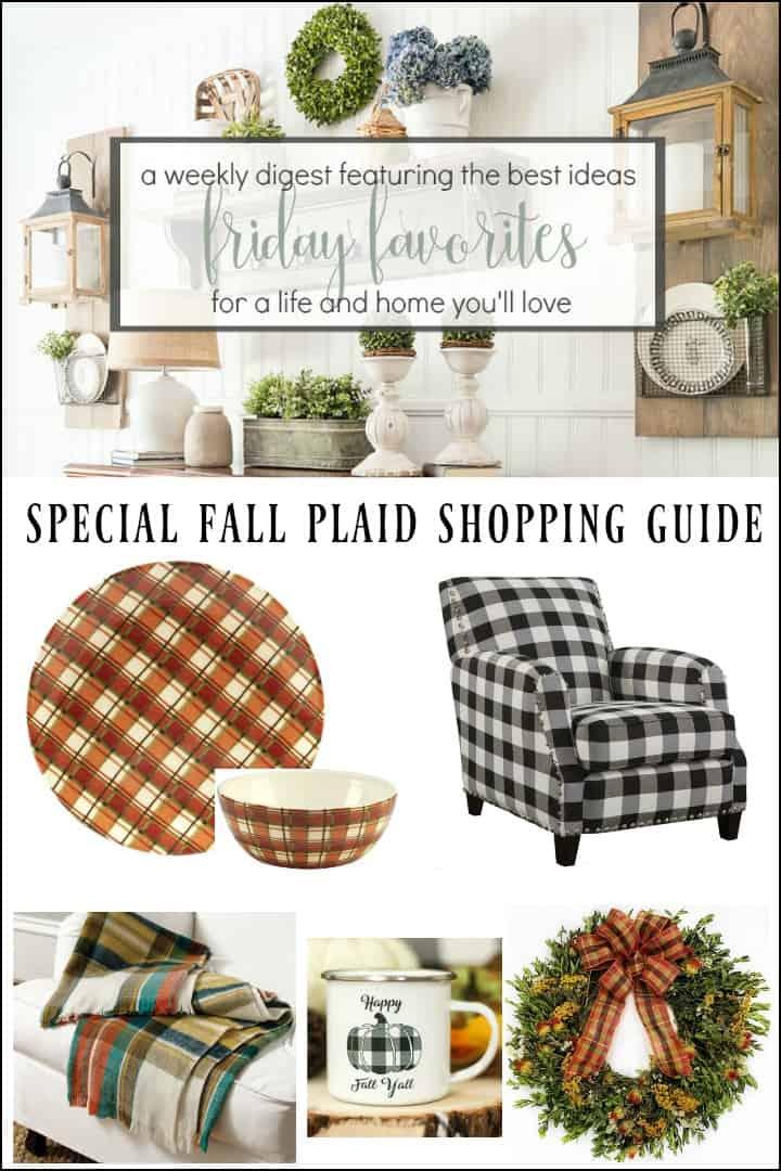 Fall Plaid Home Decor Shopping Guide