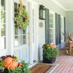 Adding Just Enough Fall To My Front Porch
