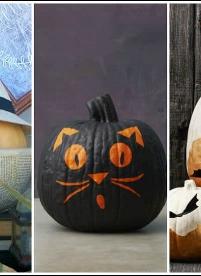 no-carve Halloween pumpkin ideas