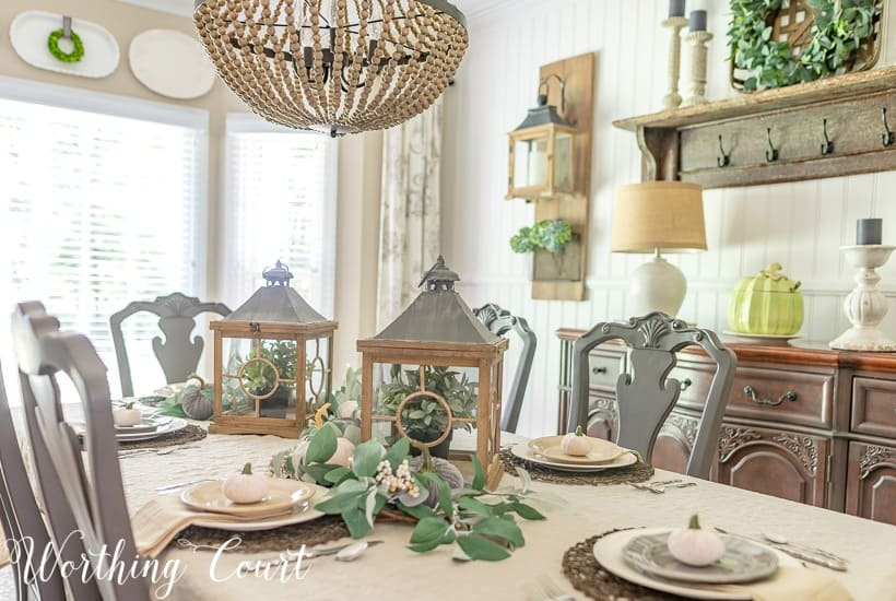 My Casually Elegant Fall Dining Room + A Video Tour