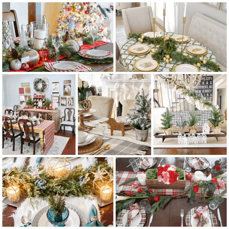 Dining Room Tablescapes: My Elegant Christmas Dining Room And Tablescape
