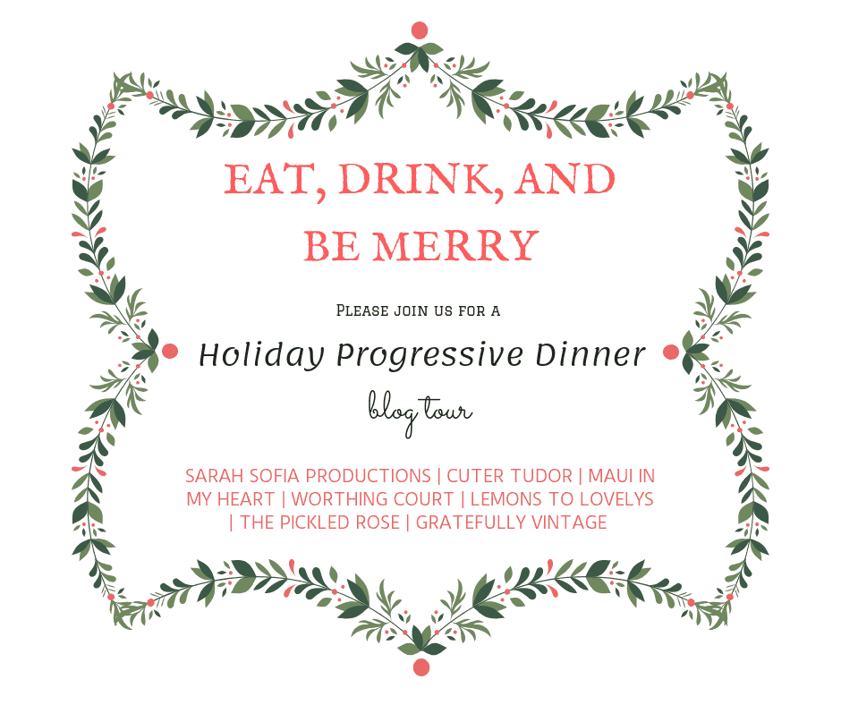Eat, drink, and be merry graphic.