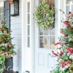 My Charming Christmas Front Porch