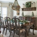 My Elegant Christmas Dining Room And Tablescape
