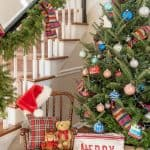 Decorating A Live Christmas Tree For The Home Depot Holiday Style Challenge